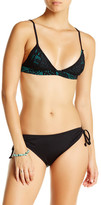 Mara Hoffman Floral Jacquard Bikini Top