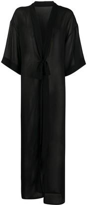 Alchemy Sheer Maxi Kimono