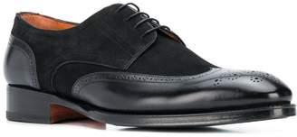 Santoni lace-up brogue shoes