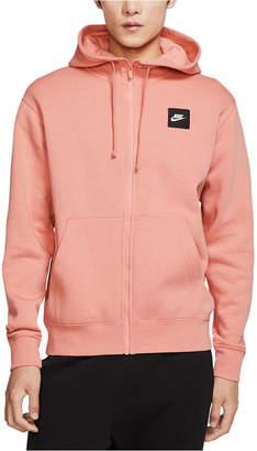 Nike Men Sportswear Just Do It Fleece Zip Hoodie