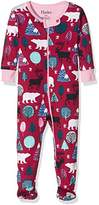 Hatley Baby Girls 0-24m Footed Coverall Footies,12-18 Months