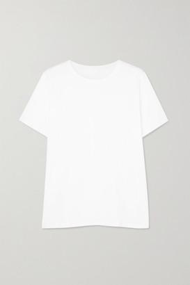 HANDVAERK Pima Cotton-jersey T-shirt - White