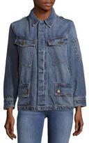 Current/Elliott Denim Long-Sleeve Jacket