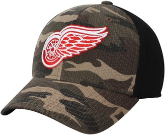 adidas Men's Camo/Black Detroit Red Wings Adjustable Hat
