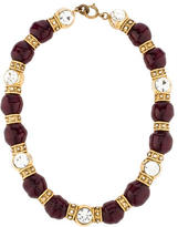 Chanel Crystal & Gripoix Bead Collar Necklace