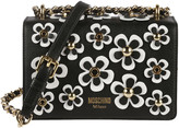 Moschino Floral Embellished Shoulder Bag