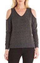 Michael Stars Women's Cold Shoulder Sweatshirt