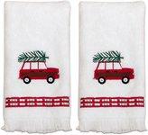 Dena 58752PTTOWMULTI Spruce Fingertip Towel Set