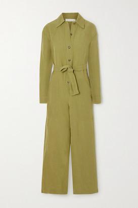 Etro Linen-blend Jumpsuit