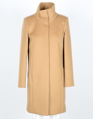 Patrizia Pepe Women's Camel Coat