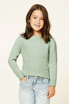 Forever 21 Girls Cable-Knit Sweater (Kids)