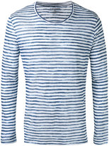 Majestic Filatures striped long sleeve T-shirt