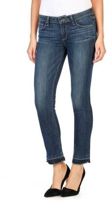 """Paige Women's Hoxton Ankle Peg Jeans W/ 3/4"""" Undone Hem"""