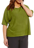 Elbow Sleeve Tops For Plus Size Shopstyle