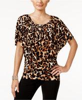 Thalia Sodi Convertible Animal-Print Top, Only at Macy's
