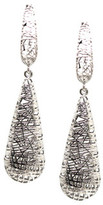 Tresor Collection - Lattice Dangling Briolette Earrings in 18k WG Default Title