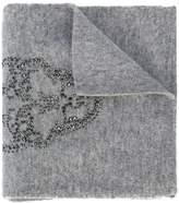 Thomas Wylde Iron crystal-embellished scarf