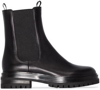 Gianvito Rossi Chester leather Chelsea boots