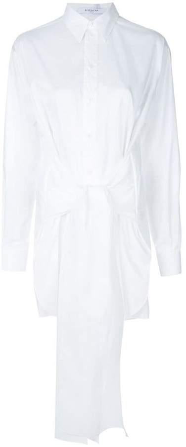 Givenchy waist tie shirt