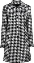 Love Moschino Moschino Houndstooth Pattern Coat