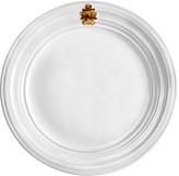 Juliska Acanthus Dinner Plate, Whitewash & Gold