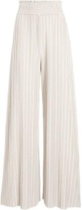 Alice + Olivia Kenley pleated wide-leg trousers
