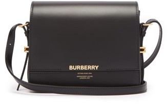 Burberry Grace Small Leather Shoulder Bag - Black