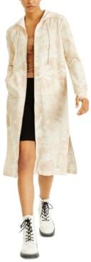INC International Concepts Culpos X Inc Tie-Dye Maxi-Length Hoodie, Created for Macy's