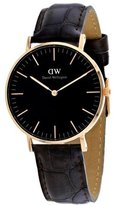 Daniel Wellington Women's 36mm Leather Band Steel Case Quartz Watch Dw00100140