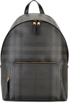 Burberry housecheck backpack - men - PVC - One Size