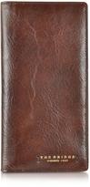 The Bridge Dark Brown Leather Wallet