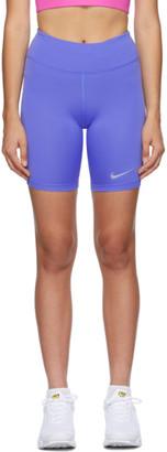 Nike Purple Fast Sport Shorts