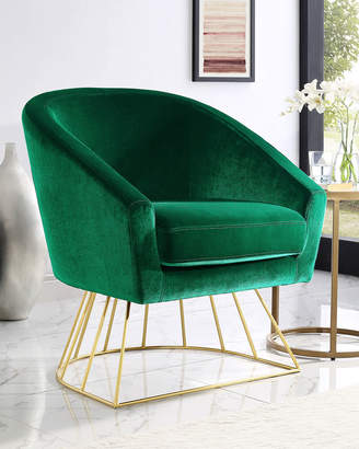 Sabrina Velvet Accent Chair