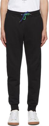 Paul Smith Black Slim Jogger Lounge Pants
