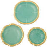 AERIN Delphine Flower Dishes - Set of 3