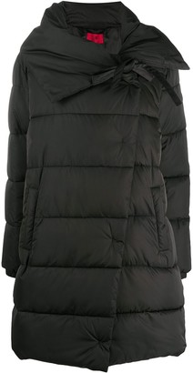 HUGO BOSS Asymmetric Padded Zip-Up Jacket