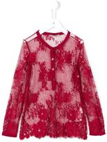 Ermanno Scervino lace tulle shirt
