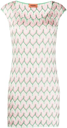 Missoni Geometric Embroidered Mini Dress