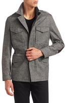 Tom Ford Wool Elbow Patched Field Jacket