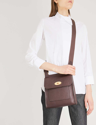 Mulberry Antony small grained-leather messenger bag