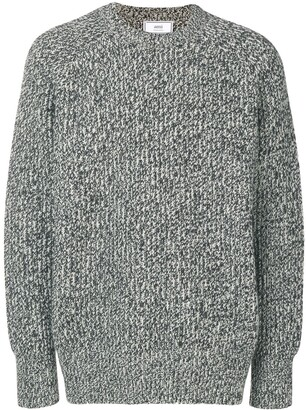 Ami crew neck Ribbed Sweater
