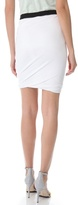 Alexander Wang Pique Twist Skirt