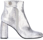 Stella McCartney metallic Alter Snakes Skin ankle boots - women - Artificial Leather - 35