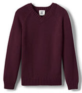 Classic Little Boys Drifter V-neck Pullover-Red