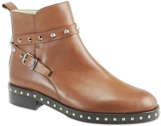 Ron White Brailynn Studded Leather Ankle Boot