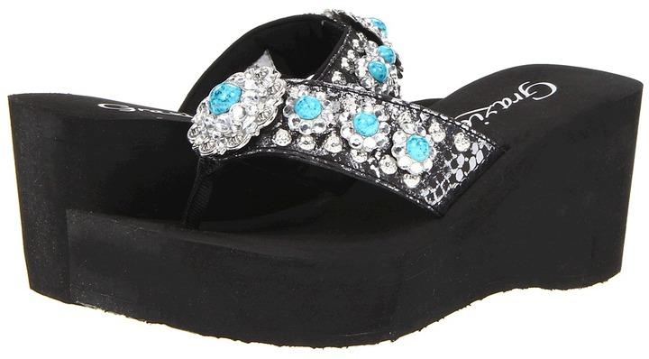 Grazie Amazee (Black) - Footwear