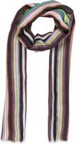 Allude Multicolor Striped Scarf w/ Tags