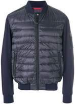 Fay padded bomber jacket
