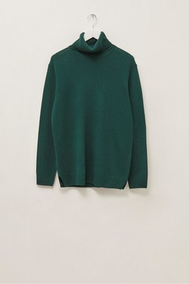 French Connection Cashmere Blend Roll Neck Jumper