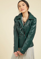 Taylor Fashion (Steve Madden) Moto You Than Meets the Eye Jacket in Pine